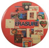 Erasure - 'Album Covers' Button Badge